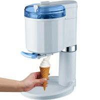 4in1 Softeismaschine Frozen Yogurt Maschine Eismaschine Flaschenkühler GG-45W-Blue Creamy